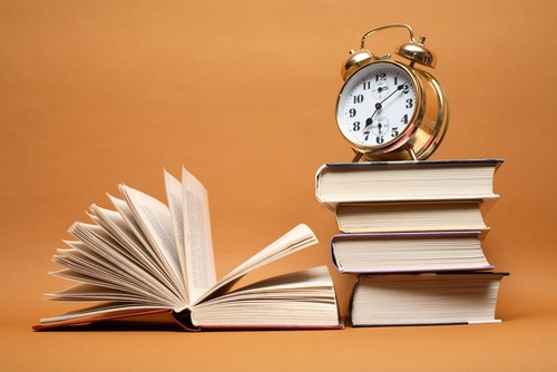 books-and-alarm-clock